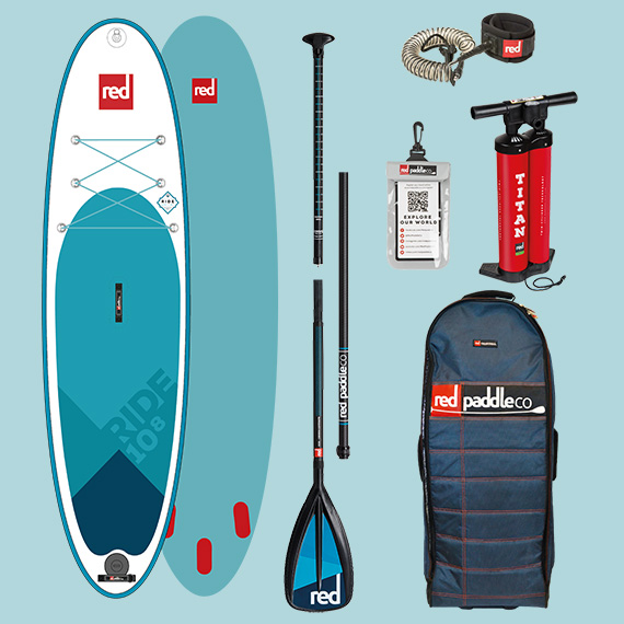 SUP Red Paddle Co Ride peddel leash