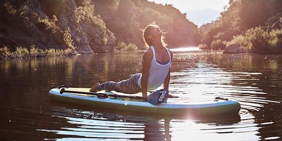 SUP supyoga yoga achterhoek