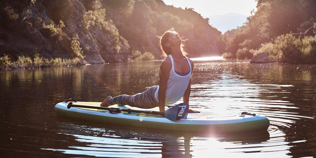 SUP supyoga yoga stand up paddling
